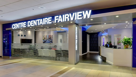 Fairview Dental Clinic entrance